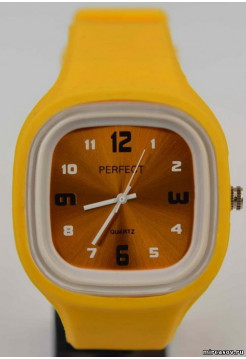 PERFECT SILICONE желтый квадр бол №1734